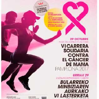 Saray y Bodegas Príncipe de Viana, unidos contra el cáncer de mama